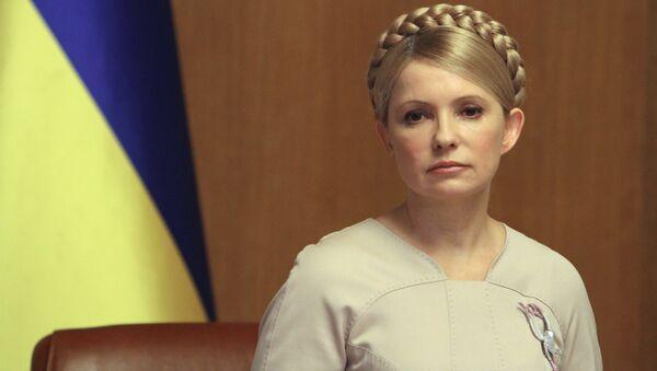 Yulia Timoshenko, ex primera ministra de Ucrania y jefa del partido Batkivschina - Sputnik Mundo