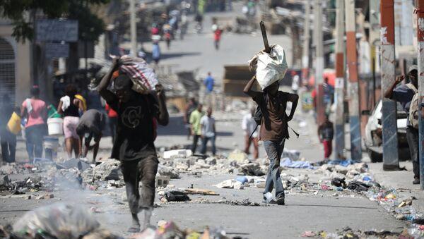 Situación en Haití - Sputnik Mundo
