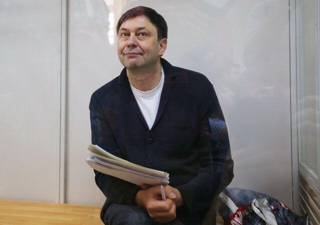 Kiril Vishinski, el jefe del portal RIA Novosti Ukraina