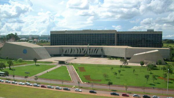 El Tribunal Superior de Justicia de Brasil - Sputnik Mundo