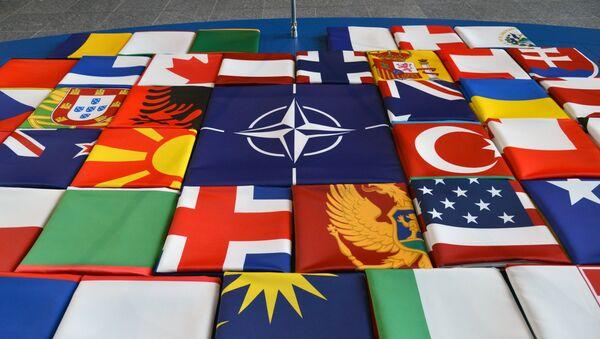 Las banderas de los países de la OTAN - Sputnik Mundo