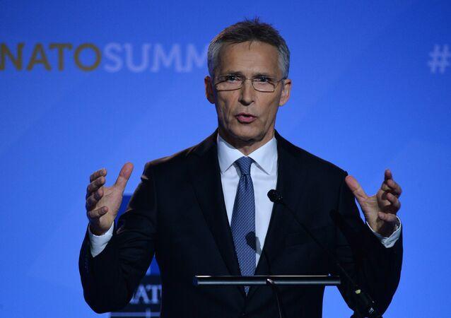 Jens Stoltenberg, el secretario general de la OTAN (archivo)