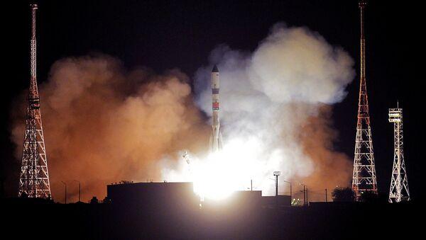 El lanzamiento del cohete Soyuz-2.1A, con carguero Progress MS-09 - Sputnik Mundo