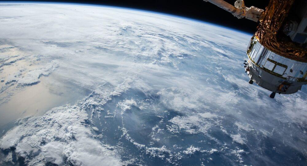 Tierra vista desde la EEI (imagen referencial)