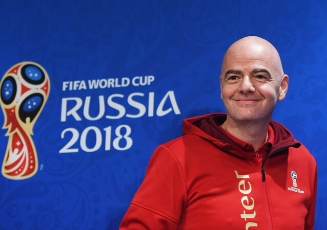 Gianni Infantino, el presidente de la FIFA
