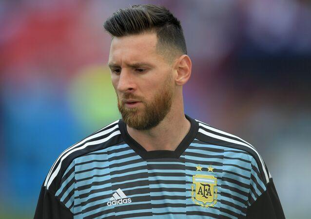 Lionel Messi, delantero argentino (archivo)