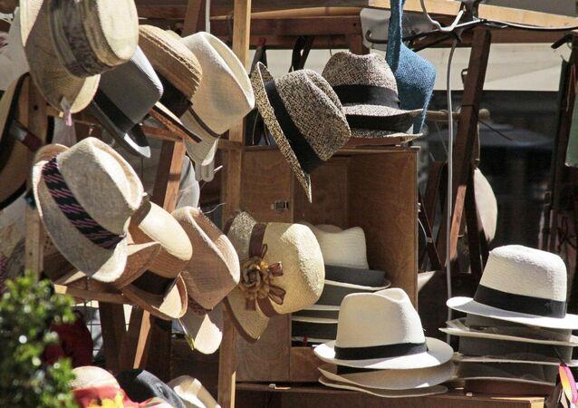 Sombreros de paja toquilla en Ecuador