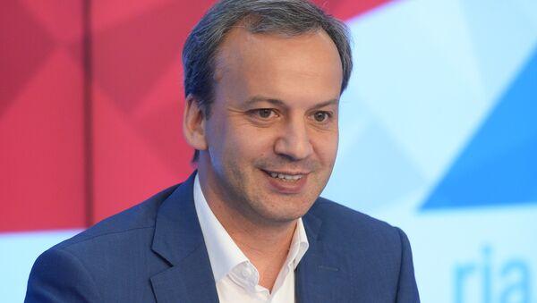 Arkadi Dvorkóvich, presidente del Comité Organizador de Rusia 2018 - Sputnik Mundo