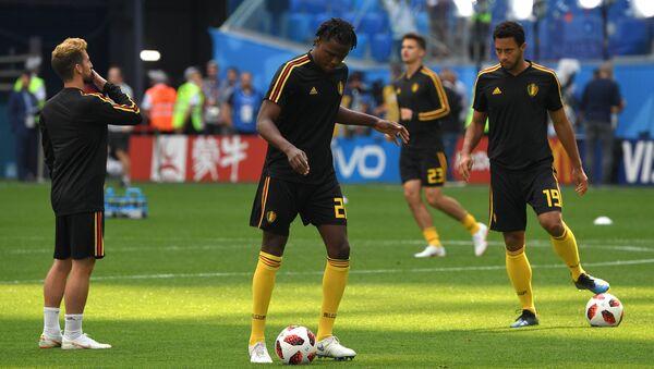 Inglaterra y Bélgica listas para el partido por el tercer puesto de Rusia 2018 - Sputnik Mundo