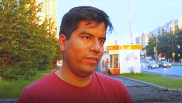Giovanni Falcón, hincha peruano - Sputnik Mundo
