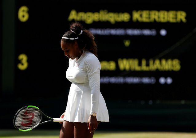Serena Williams pierde el Wimbledon ante la tenista alemana Kerber