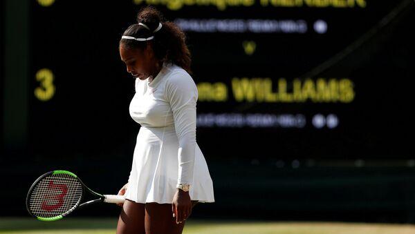 Serena Williams pierde el Wimbledon ante la tenista alemana Kerber - Sputnik Mundo