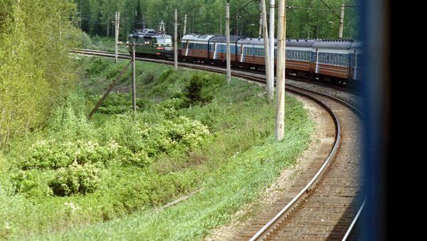 The Trans-Siberian Mainline in Russia's Irkutsk Region - Sputnik Mundo