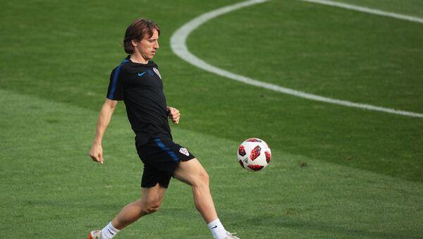 Luka Modric, centrocampista de la selección croata - Sputnik Mundo