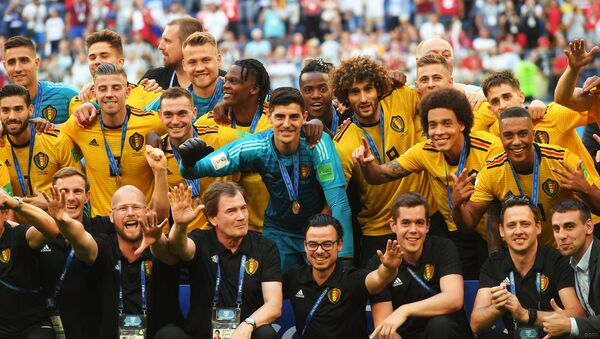 Selección de fútbol de Bélgica - Sputnik Mundo