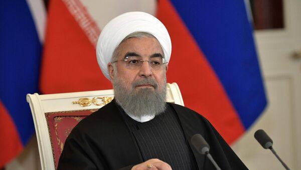 El presidente de la República Islámica de Irán, Hasán Rohaní - Sputnik Mundo