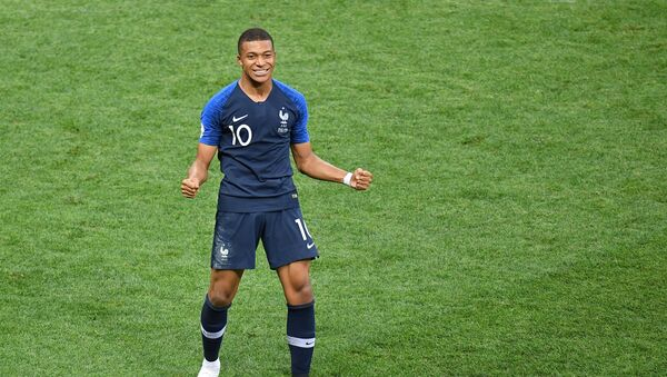 El delantero de la selección de Francia, Kylian Mbappé - Sputnik Mundo