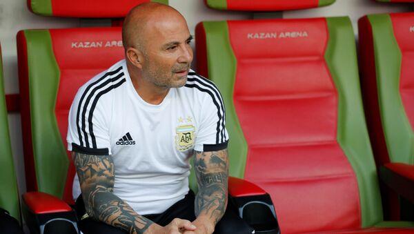 Jorge Sampaoli, entrenador de la selección argentina - Sputnik Mundo