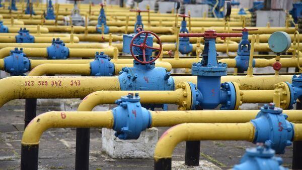 Un gasoducto en Ucrania - Sputnik Mundo