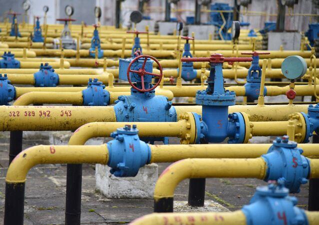 Un gasoducto en Ucrania