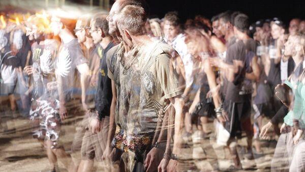 Una multitud de la gente - Sputnik Mundo