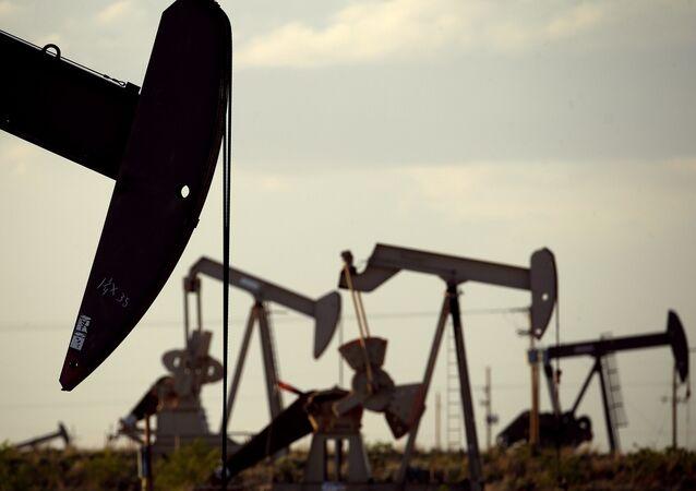Un pozo petrolero