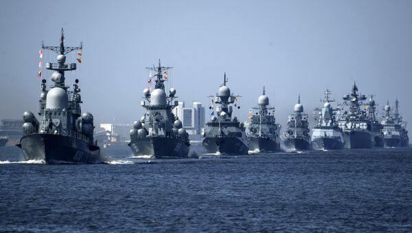 Los buques de la Armada de Rusia - Sputnik Mundo