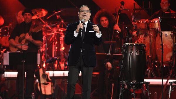 El cantante puertorriqueño de salsa Gilberto Santa Rosa - Sputnik Mundo