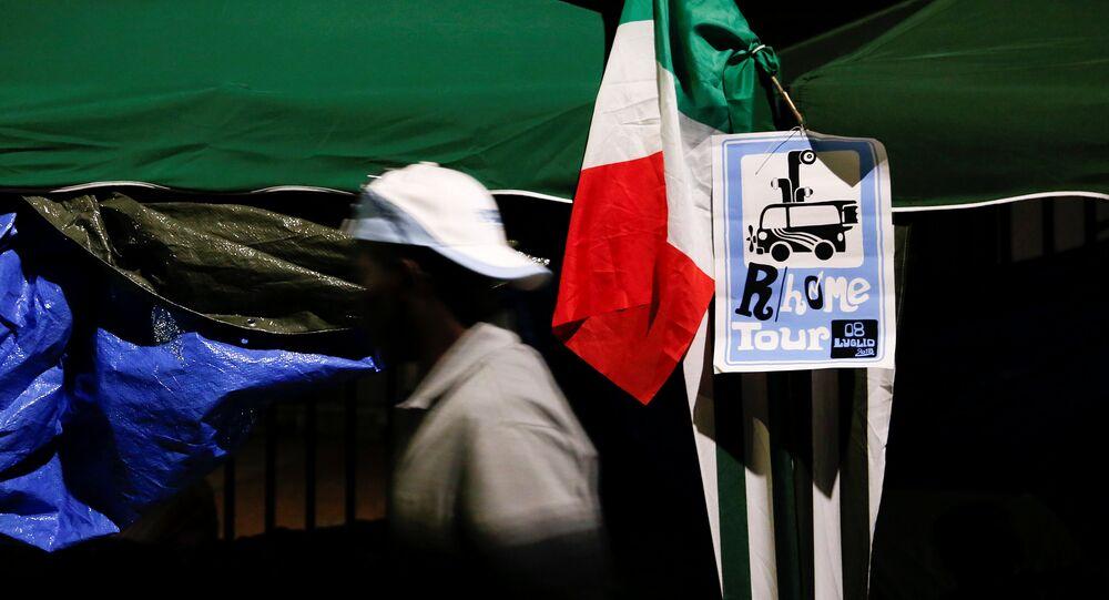 Un inmigrante africano en Italia