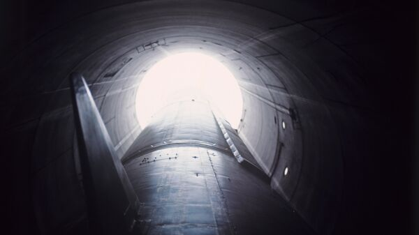 Misil balístico intercontinental en un silo - Sputnik Mundo