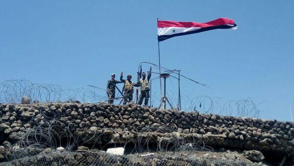 Ejército sirio en el area de Quneitra - Sputnik Mundo