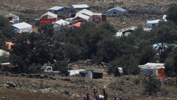 Campo de refugiados en Siria - Sputnik Mundo