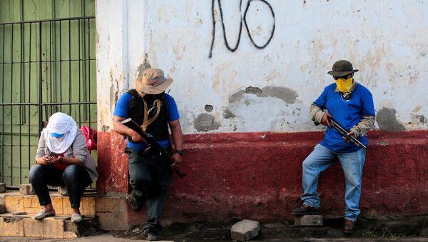 Protestas en Nicaragua (archivo) - Sputnik Mundo