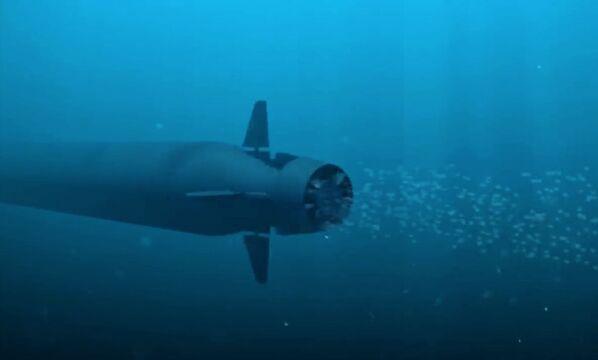 Dron submarino Poseidón - Sputnik Mundo