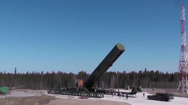 Complejo de misiles Sarmat - Sputnik Mundo