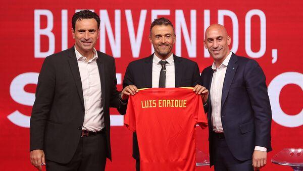 Presentación del nuevo seleccionador de España, Luis Enrique - Sputnik Mundo