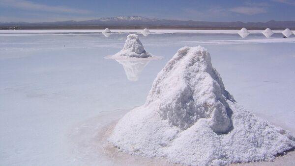 Salar de Uyuni en Bolivia - Sputnik Mundo