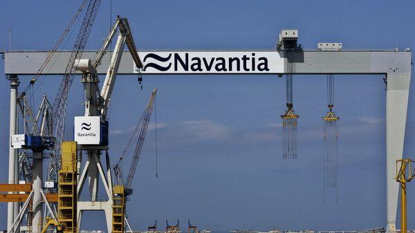 Logo de Navantia - Sputnik Mundo