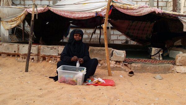 Shada, de 38 años, una criada y pastora de ovejas y de camellos de Mauritania - Sputnik Mundo
