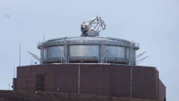 Un telescopio en Haleakala, Maui, Hawái - Sputnik Mundo