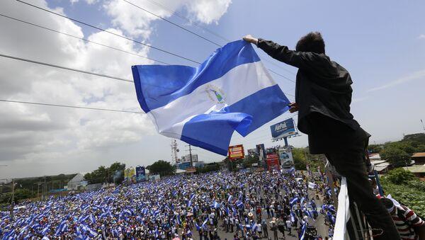 Las protestas en Nicaragua (archivo) - Sputnik Mundo
