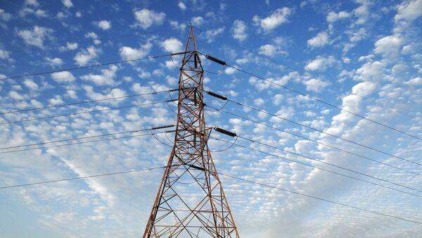 Una torre de transmisión eléctrica - Sputnik Mundo