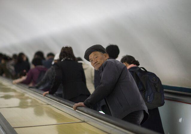 Un hombre norcoreano (imagen referencial)