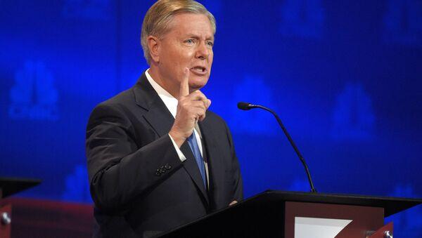 El senador republicano estadounidense Lindsey Graham - Sputnik Mundo