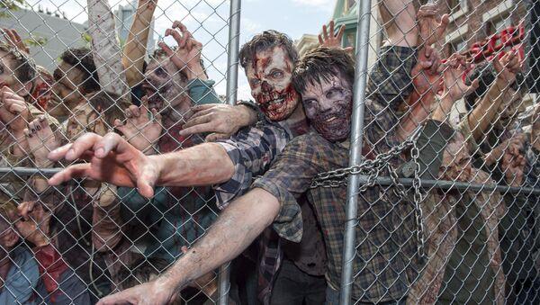 Zombies (imagen referencial) - Sputnik Mundo