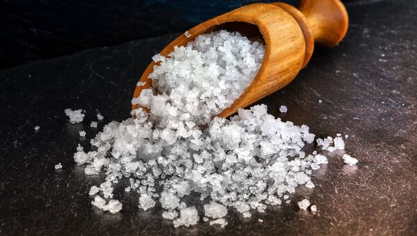 Cristales de sal marina - Sputnik Mundo