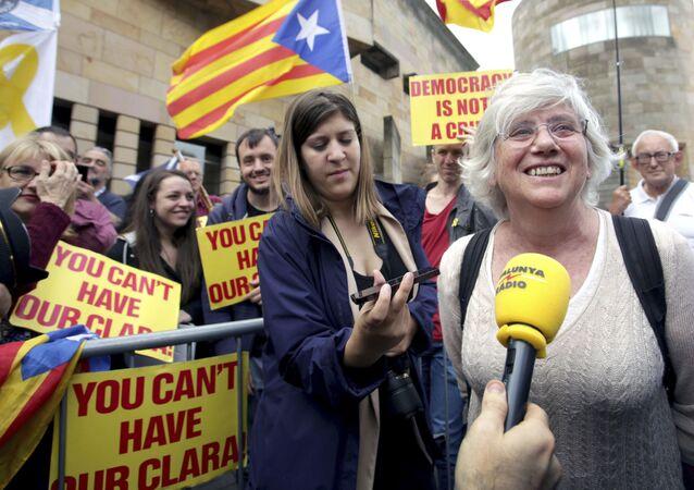 Clara Ponsatí, la exconsejera catalana (archivo)