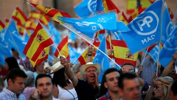 Partidarios del Partido Popular en España, foro archivo - Sputnik Mundo