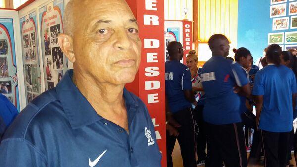 El veterano futbolista cubano Antonio Garcés Segura - Sputnik Mundo