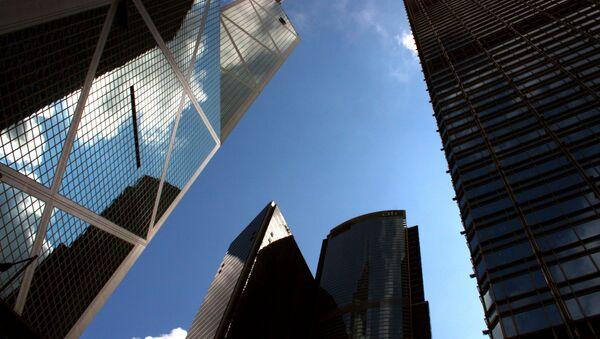 Unos rascacielos en China (imagen referencial) - Sputnik Mundo